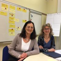 Claudia Tausend und Bettina Messinger